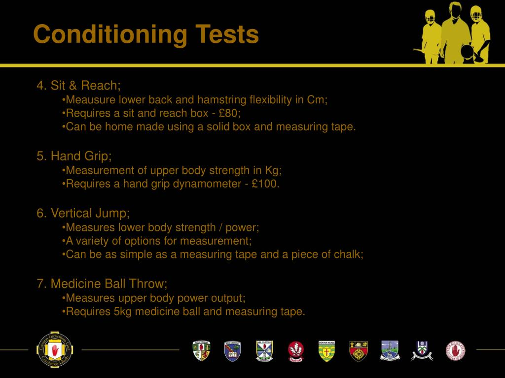 Conditioning Tests