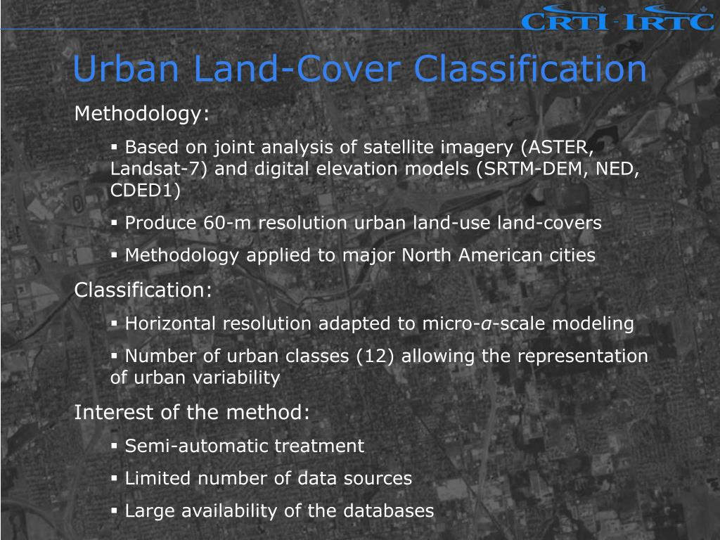 Urban Land-Cover Classification