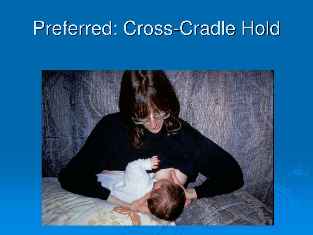 Preferred: Cross-Cradle Hold