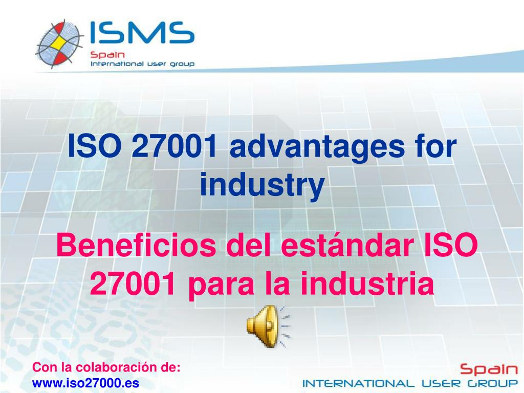 ISO 27001 advantages for industry