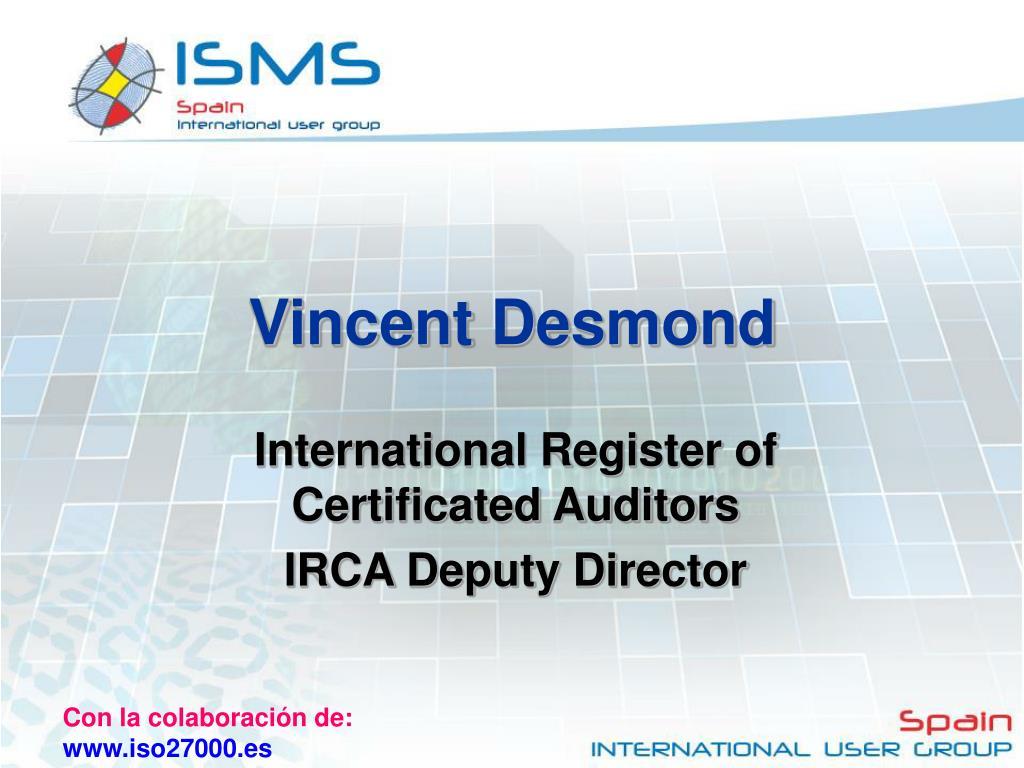 Vincent Desmond