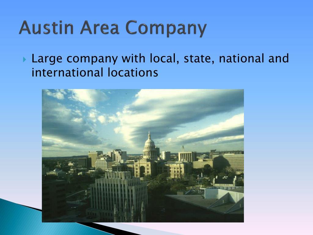 Austin Area Company