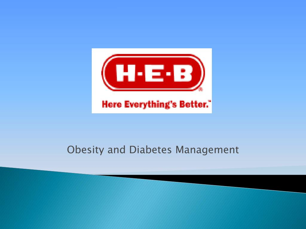 Obesity and Diabetes Management