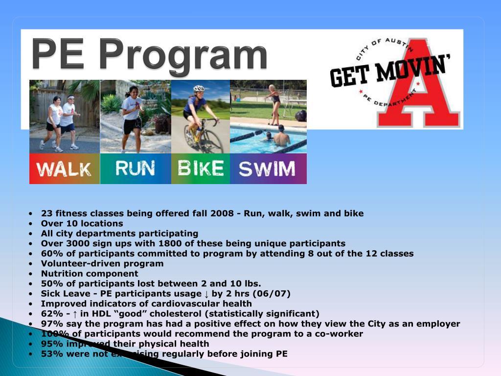 PE Program