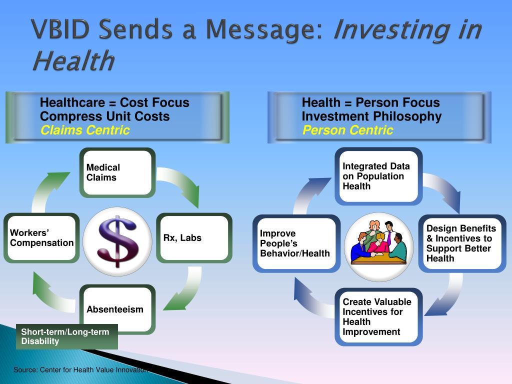 VBID Sends a Message: