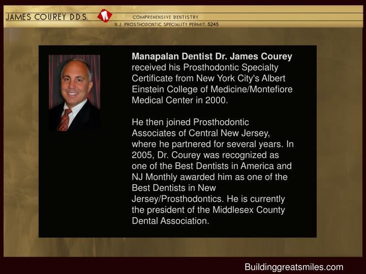 Manapalan Dentist Dr. James Courey