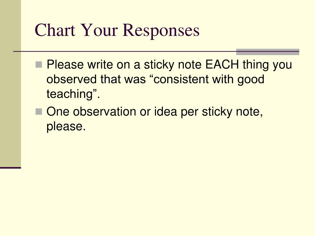 Chart Your Responses