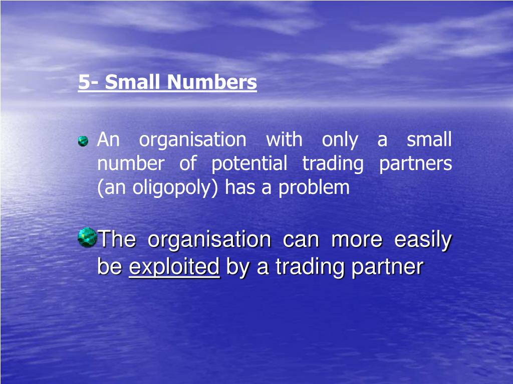 5- Small Numbers