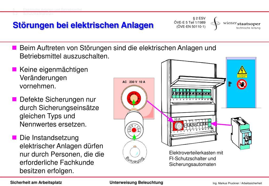 5Elektrische Anlagen und Betriebsmittel
