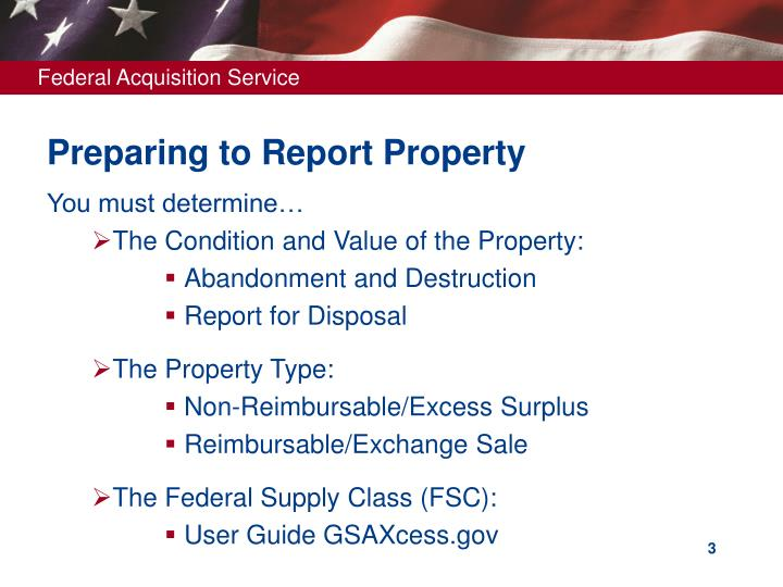 Preparing to report property l.jpg
