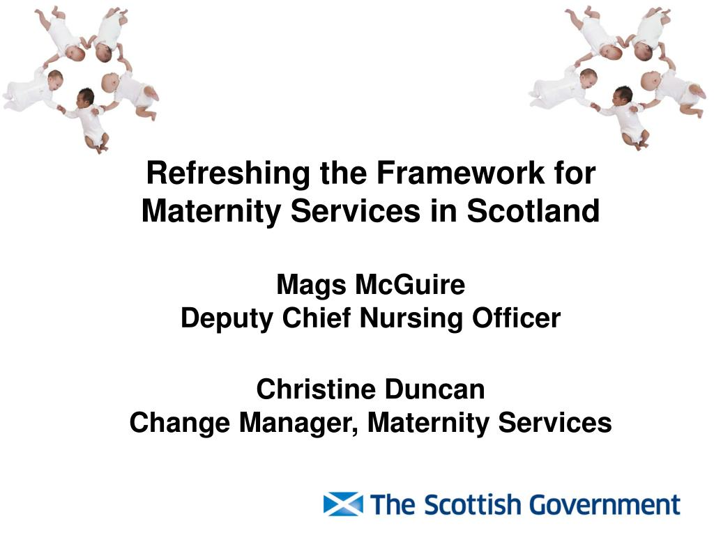Refreshing the Framework for Maternity Services in Scotland