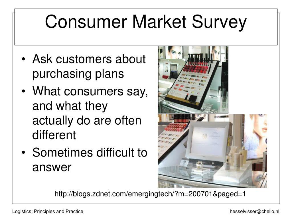 Consumer Market Survey