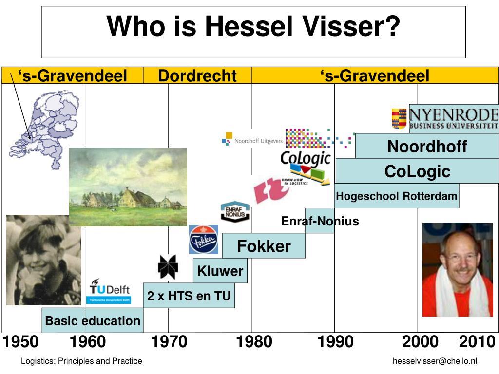 Who is Hessel Visser?