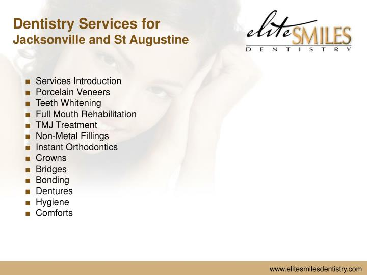 Dentistry Services for