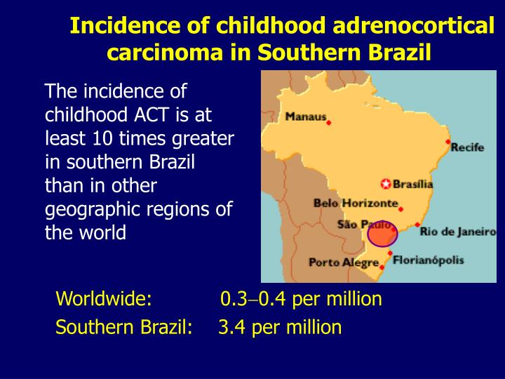 Incidence of childhood adrenocortical carcinoma in southern brazil l.jpg