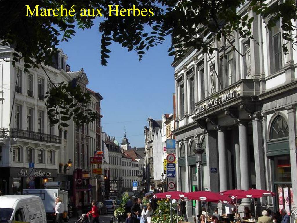Marché aux Herbes