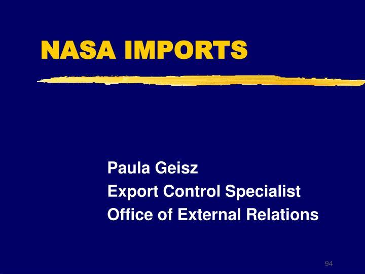 NASA IMPORTS