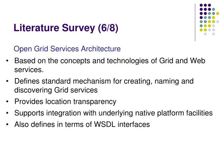 Literature Survey (6/8)