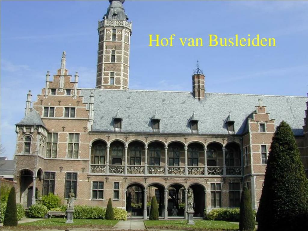 Hof van Busleiden
