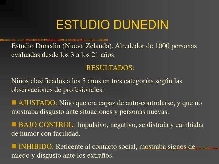 ESTUDIO DUNEDIN