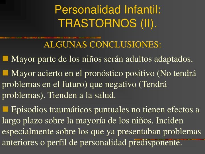 Personalidad Infantil: