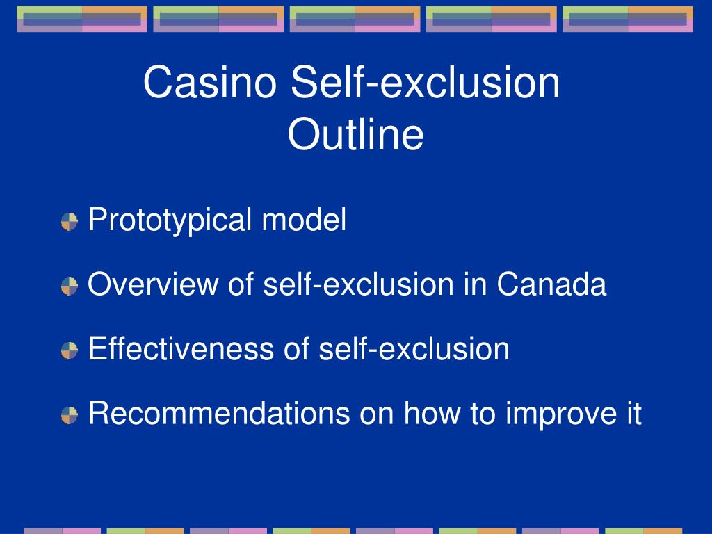 Casino Self-exclusion