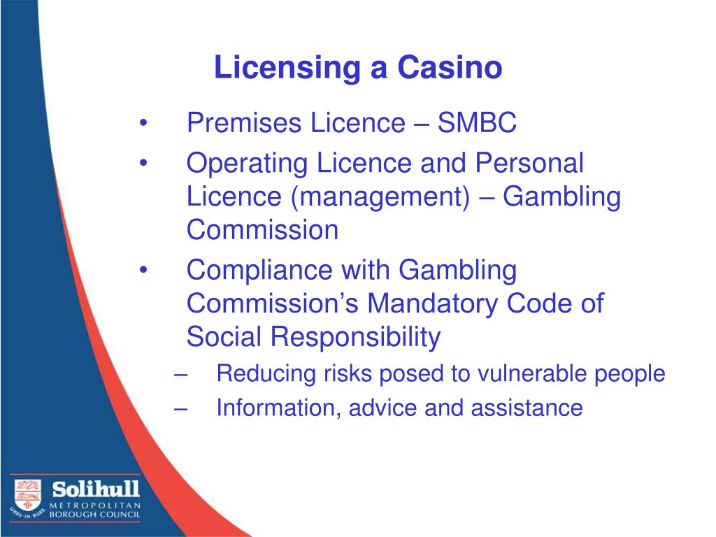 Licensing a Casino