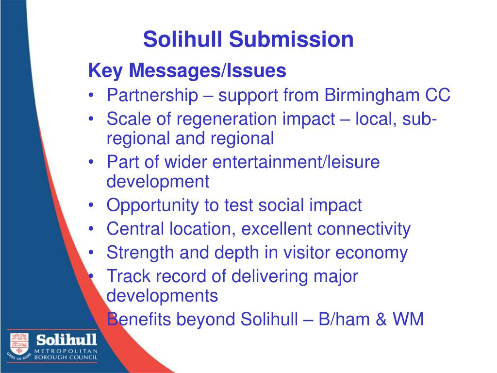 Solihull Submission