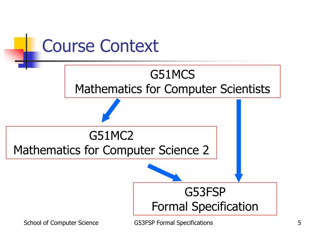 Course Context
