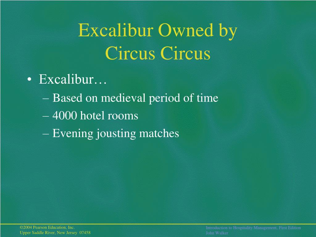 Excalibur Owned by