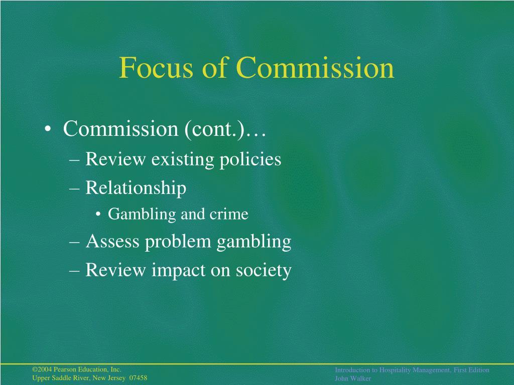 Focus of Commission