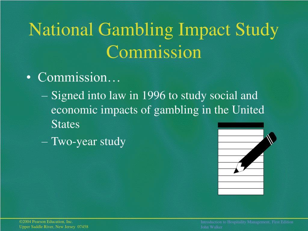 National Gambling Impact Study Commission