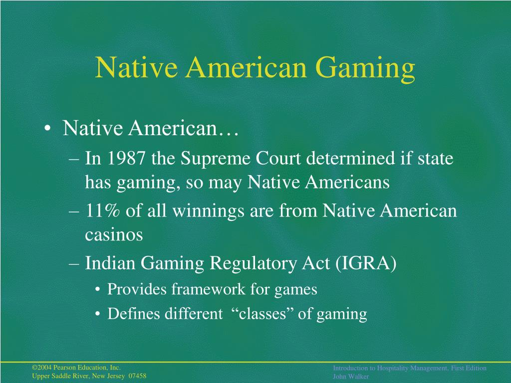 Native American Gaming