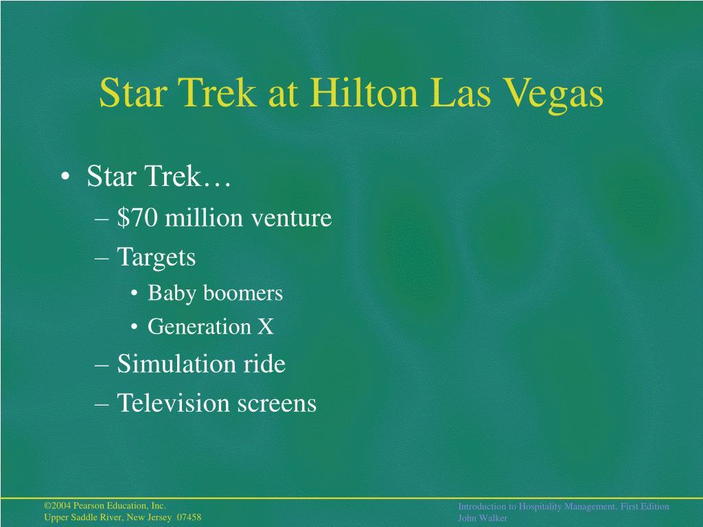 Star Trek at Hilton Las Vegas