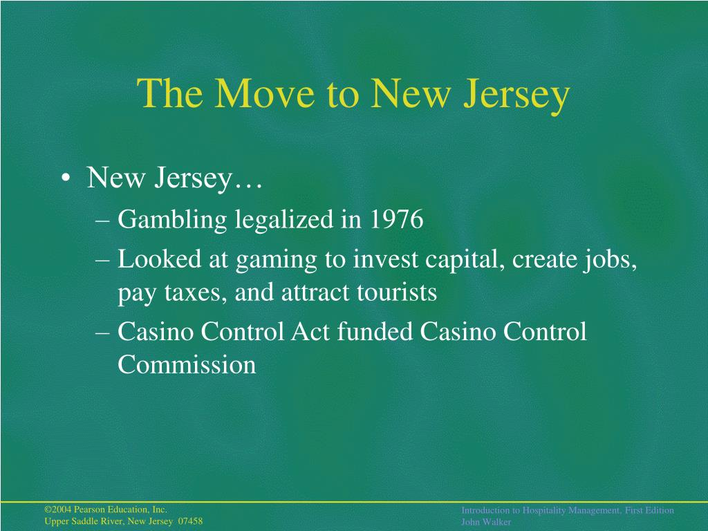 The Move to New Jersey