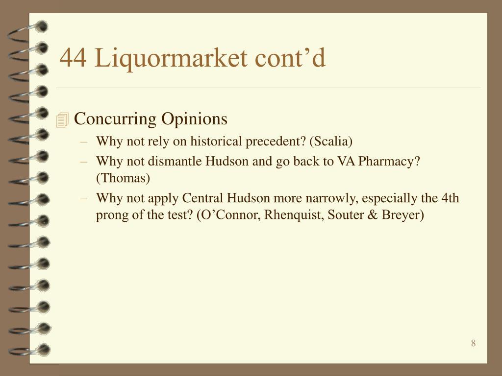 44 Liquormarket cont'd