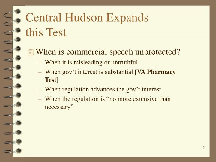 Central hudson expands this test