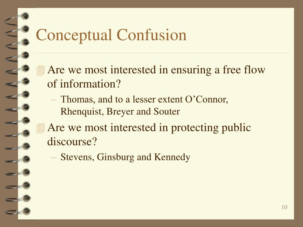 Conceptual Confusion