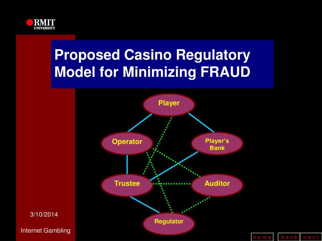 Proposed Casino Regulatory Model for Minimizing FRAUD