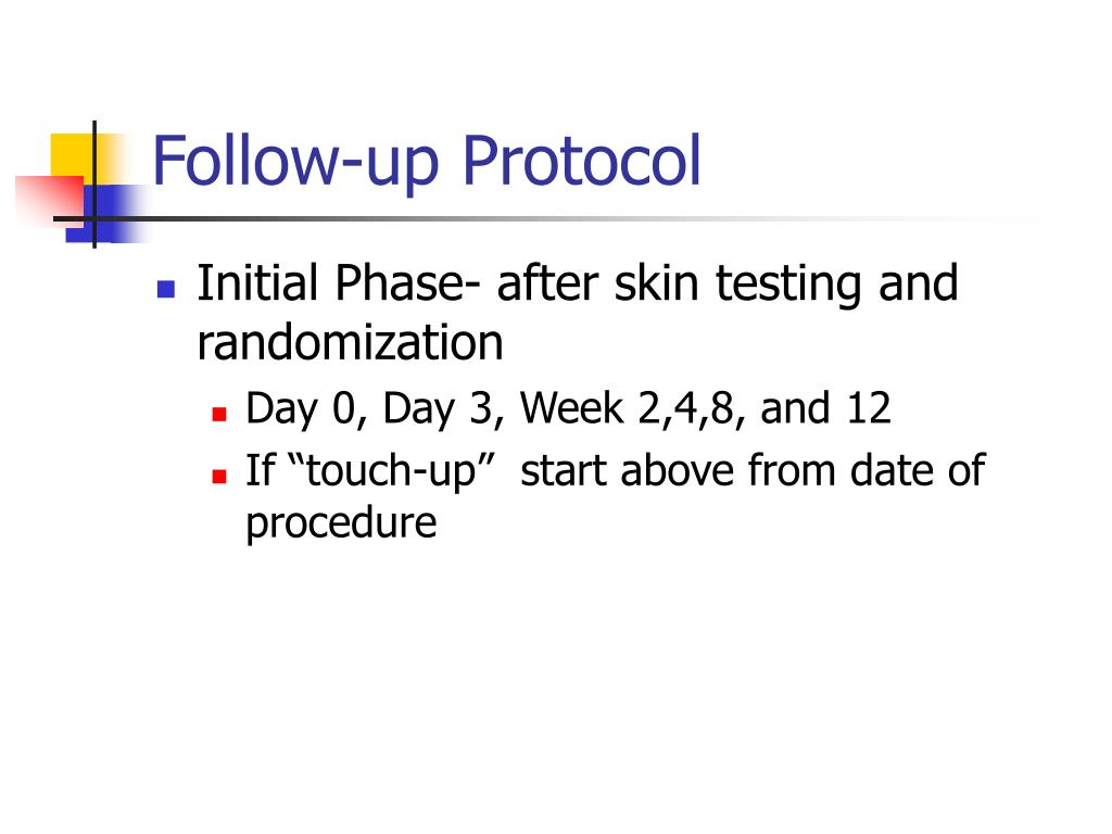 Follow-up Protocol