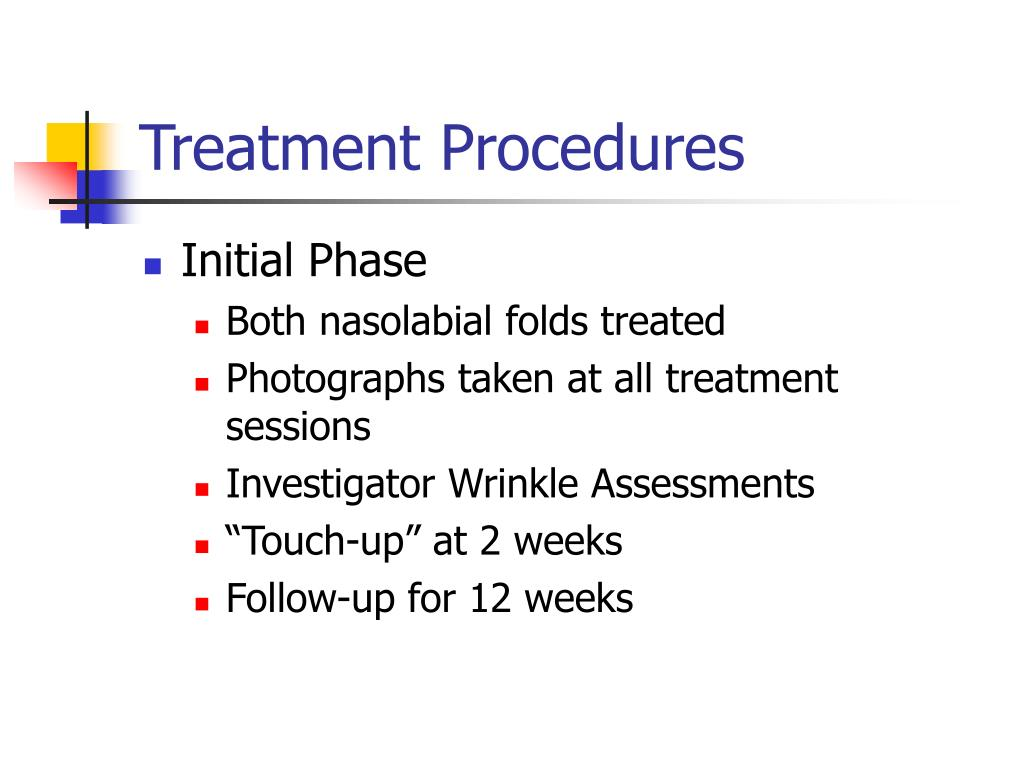 Treatment Procedures
