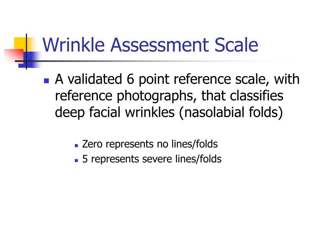Wrinkle Assessment Scale