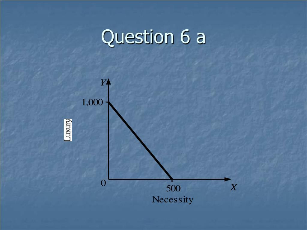 Question 6 a