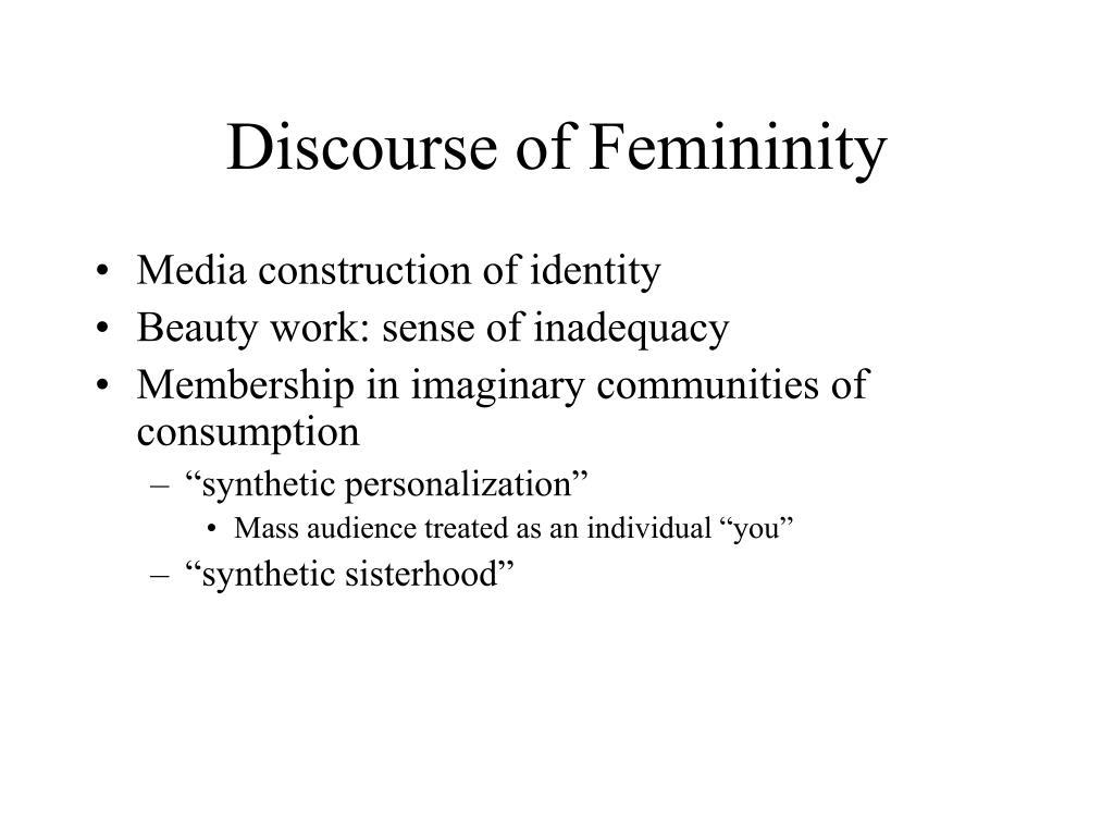 Discourse of Femininity
