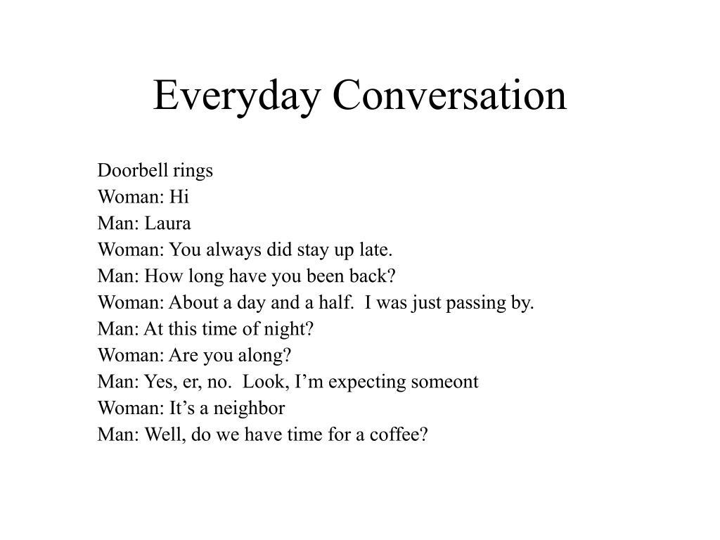 Everyday Conversation