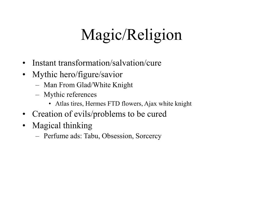Magic/Religion