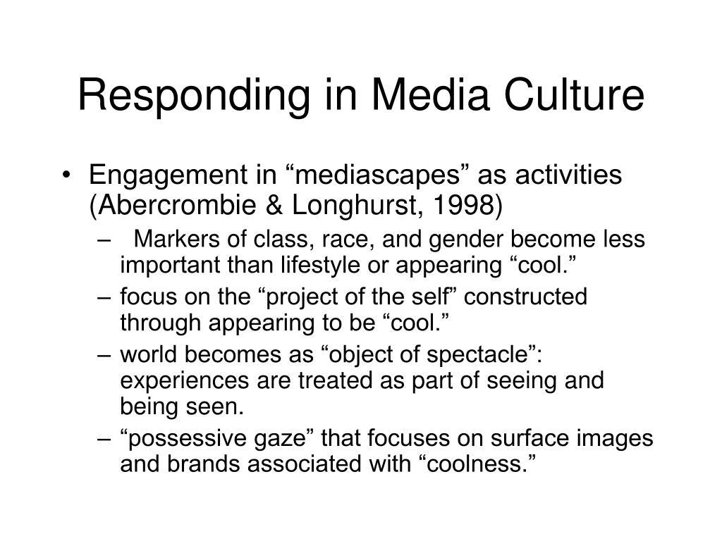 Responding in Media Culture
