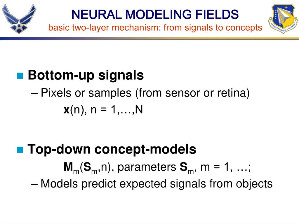 NEURAL MODELING FIELDS