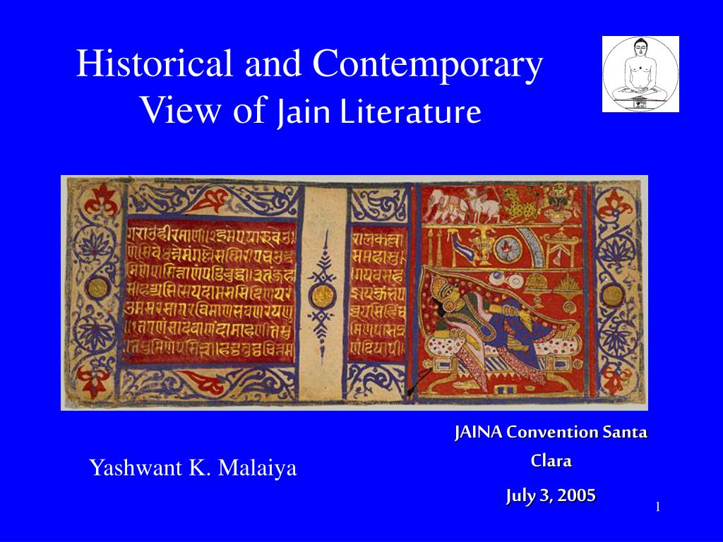 historical and contemporary view of jain literature