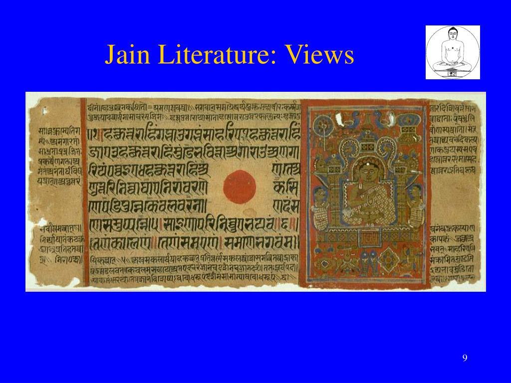 Jain Literature: Views